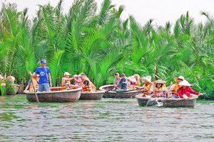 Tour rừng dừa 7 mẫu Hội An